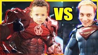 Punching My Son Into Space -Injustice 2- Get Rekt Son