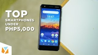Top Smartphones Under PHP5,000 (Early And Late 2018)