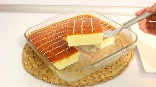 Ekonomik Çook lezzetli Karamelli Trileçe Tarifi /Sosunda Krema yok / Hayalimdeki Yemekler