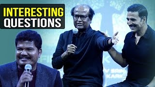 Media Asks Interesting Questions To 2.0 Team | Rajinikanth | Akshay Kumar | Shankar | TFPC