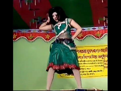 Recording open stage dance India Village Bangla dance