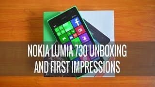 Nokia Lumia 730 Unboxing