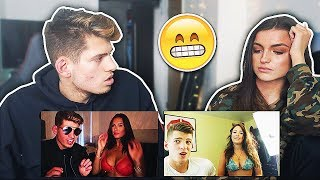 Current Girlfriend Reacts to My EX Girlfriend... *VERY AWKWARD*
