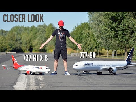 Xxx Mp4 Closer Look At The Boeing 777 9X RC Airliner Running More Tests NO FLYING 3gp Sex