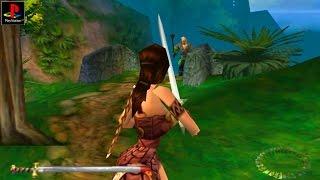 Xena: Warrior Princess - Gameplay PSX / PS1 / PS One / HD 720P (Epsxe)