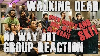 """The Walking Dead - S6E9 """"No Way Out"""" - Group Reaction and Skit"""