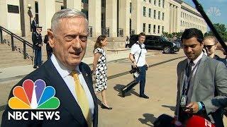 Secretary Of Defense James Mattis Offers 'Good News' On North Korea Summit | NBC News