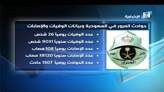 ستوديو الإخبارية - حوادث المرور في السعودية وبيانات الوفيات والإصابات