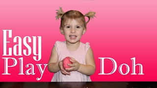VALENTINE PLAY DOH Easy Kids Science Experiments