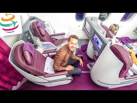 Thai Airways Royal Silk (Business Class) 787-8   GlobalTraveler.TV