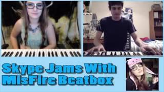 Piano Beatbox Skype Jam With MisFire!