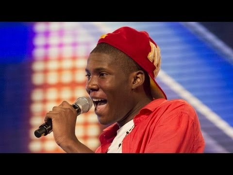 Download Sheyi Omatayo's audition - Louis Armstrong's Wonderful World - The X Factor UK 2012