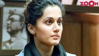 Taapsee Pannu gets disheartened after being dropped from