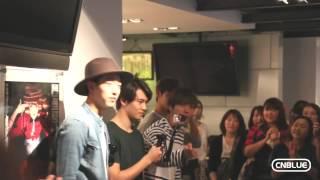 CNBLUE 4th Album「colors」試聴会にサプライズ登場!