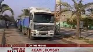 Chomsky: Obama on Gaza is similar to Bush-1/3