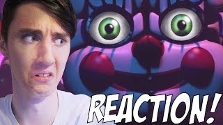 Sister Location TRAILER REACTION! | Five Nights at Freddy's Sister Location Trailer