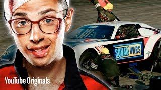 Girl Code Vs. Madd Chadd & Poppin John • NASCAR Pit Crew