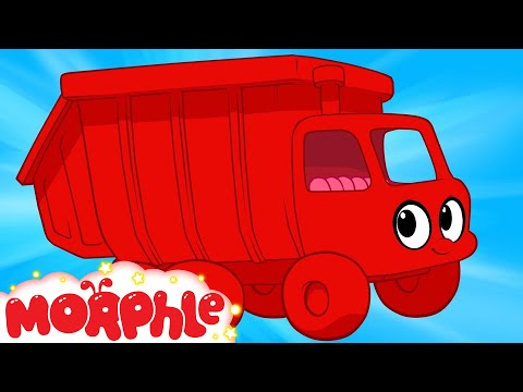 My Red Garbage Truck Morphle compilation My Magic Pet Morphle Episode 28