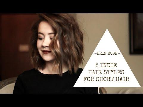 5 Hairstyles for Short Hair   Erin Rose