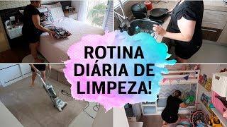 MINHA ROTINA DE LIMPEZA DIÁRIA (2019) | MOTIVAÇÃO PARA LIMPEZA | ROTINA DE DONA DE CASA