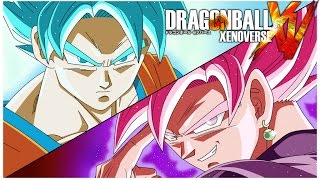 BLACK GOKU VS GOKU - DRAGON BALL XENOVERSE FR | Gameplay Francais MOD