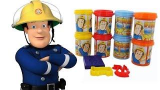 SAM il POMPIERE Italiano - Facciamo Sam il Pompiere con la Pasta Modellabile [Gioco per Bambini]