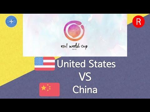 watch osu! World Cup 2016 Semifinals - Match M - United States vs China