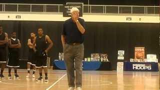 Bob Knight at Coaches Clinic