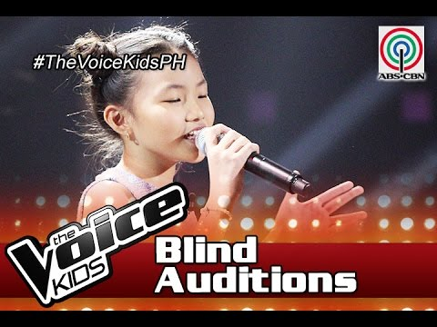 """The Voice Kids Philippines 2016 Blind Auditions: """"Ngayon"""" by Alyssa"""