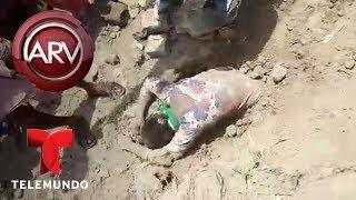 Joven es enterrada viva y esto es lo que pasó 2 horas después | Al Rojo Vivo | Telemundo
