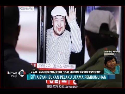 Siti Aisyah Bukan Pelaku Utama Pembunuhan Kim Jong Nam - iNews Pagi 1608