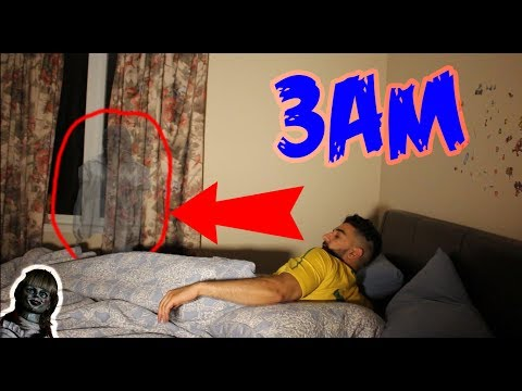 (CREEPY DOLL!!) DO NOT RECORD YOURSELF SLEEPING AT 3AM