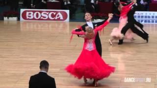 Dmitry Zharkov - Olga Kulikova, RUS, 1/8 Viennese Waltz