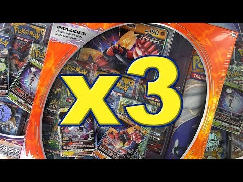 Xxx Mp4 3x Ultra Beast Pokemon TCG Collection Box Opening 3gp Sex