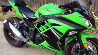 The new 2014 Kawasaki Ninja 300 Special Edition review