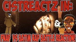 FNAF VS BATIM RAP BATTLE REACTION | INK VS MACHINE!