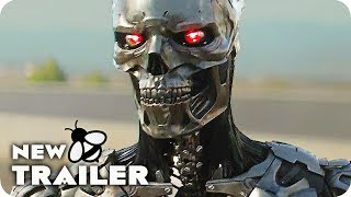 TERMINATOR: DARK FATE James Cameron Featurette & Trailer (2019) Arnold Schwarzenegger Movie
