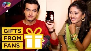 Mohsin Khan & Shivangi Joshi Receives Gifts From Fans | Exclusive | Gift Segment
