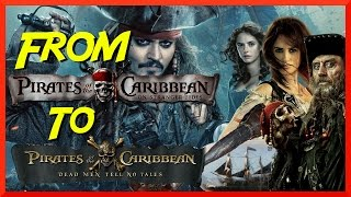 From On Stranger Tides to Pirates 5
