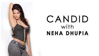 Candid with Neha Dhupia