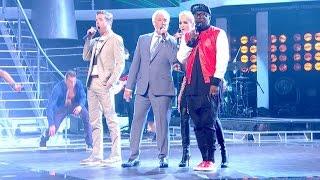 The Coaches perform 'Unbelievable' - The Live Quarter Finals: The Voice UK 2015 - BBC One