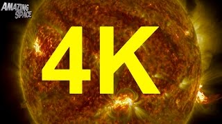NASA | 4K Video:  Thermonuclear Art – The Sun In Ultra HD 4K