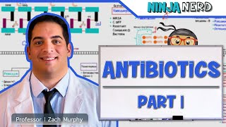 Pharmacology   Antibiotics: Cell Wall Synthesis   Part 1