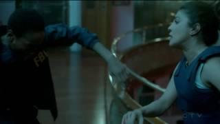 Lydia Bates  -vs- Alex Parrish (terrorist fight scene) #4 - Quantico
