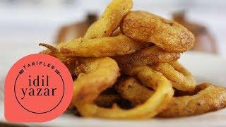 Çıtır Soğan Halkası Nasıl Yapılır ? - İdil Yazar - Yemek Tarifleri - Crispy Onion Rings Recipe