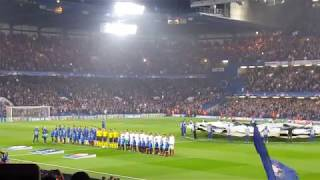 Chelsea Fc Champions League Anthem and Atmosphere at Stamford Bridge