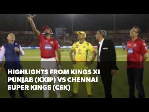 Xxx Mp4 IPL 2018 Highlights From Kings XI Punjab KXIP Vs Chennai Super Kings CSK 3gp Sex