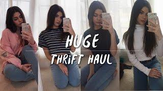 HUUUUUGE HAUL || Ralph Lauren, Nike Thrift Haul