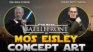 Star Wars Battlefront Mos Eisley DLC Concept Art By Fans