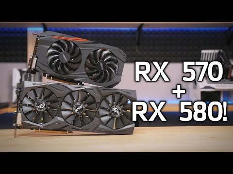 Here s Some Radeon RX 580 & 570 Launch Benchmarks